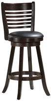 Monarch Two-Piece Slat-Back Bar-Height Stools