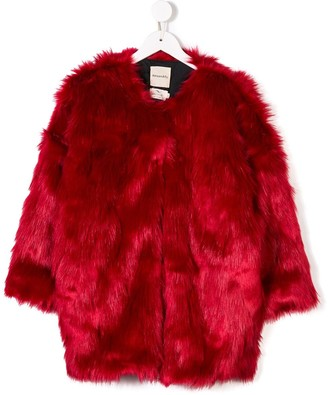 Andorine Oversized Faux Fur Coat