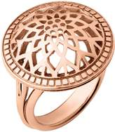 Links of London Timeless rose gold domed ring