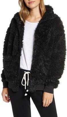 PJ Salvage Jewel Night Faux Fur Jacket