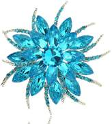 TAGOO Noble Swan Vintage Brooches Pins Corsages Scarf Clips in Crystal Unisex Women&Men