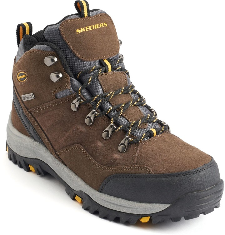 604154a2962f Skechers Waterproof Boots For Men