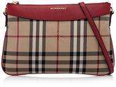 Burberry Women's Horseferry Check Peyton Clutch Bag