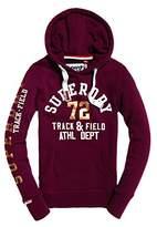 Superdry Womens Track & Field Hoodie Red