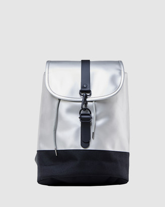 Rains Women's Silver Bags - Drawstring Backpack - Size One Size at The Iconic