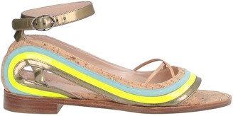 Paula Cademartori Toe strap sandals