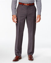MICHAEL Michael Kors Men's Classic-Fit Charcoal Flat Front Dress Pants
