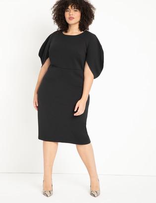 ELOQUII Textured Knit Dress