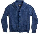 Ralph Lauren RRL Indigo Cotton-Linen Cardigan