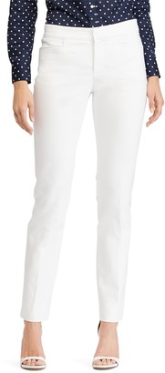 Chaps Women's Solid Straight-Leg Pants