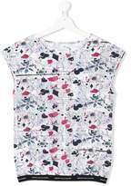John Galliano TEEN journal print T-shirt