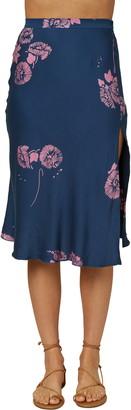 O'Neill Slippin Floral Woven Skirt