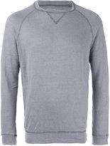 Majestic Filatures contrast stitch sweater - men - Linen/Flax/Spandex/Elastane - L