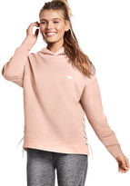 PINK Side Lace-Up Pullover