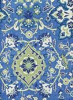 Ralph Lauren Chambers Medallion Cobalt Tablecloth, 60-by-120 Inch Oblong Rectangular