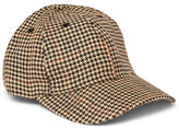 Our Legacy - Houndstooth Linen-tweed Baseball Cap