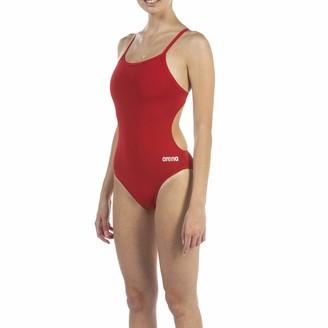 Arena Women's Challenge Back MaxLife One Piece Athletic Training Swimsuit