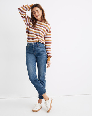 Madewell Petite Classic Straight Jeans in Coldbrook Wash