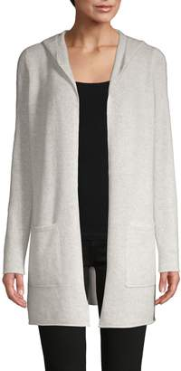 Saks Fifth Avenue Hooded Cashmere Cardigan