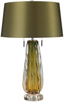 Artistic Home & Lighting Free Blown Glass Table Lamp