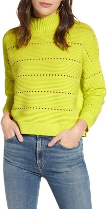 French Connection Mock Neck Liliya Knit Sweater