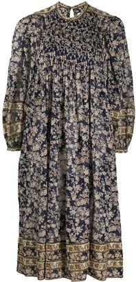 Etoile Isabel Marant Floral Flared Midi Dress
