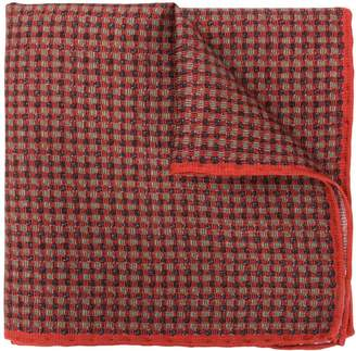 Canali micro check pocket square