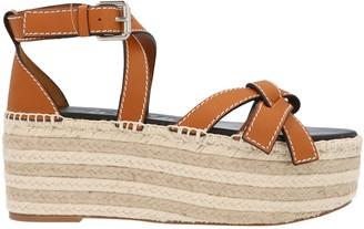 Loewe Gate Wedge Espadrille Sandals