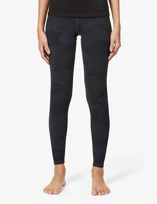 Alo Yoga Vapor camouflage-print high-rise stretch-jersey leggings