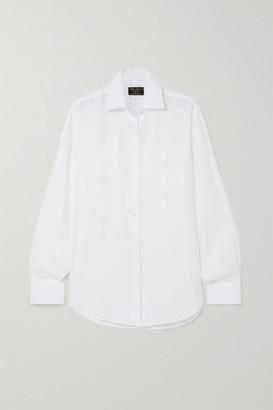 Emma Willis Jermyn Street Linen Shirt - White