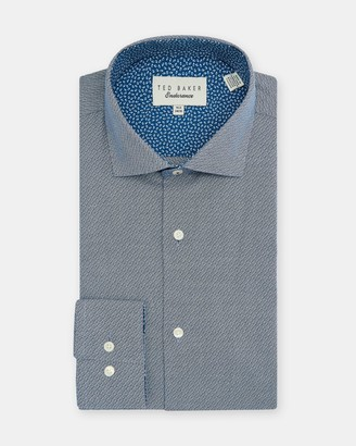 Ted Baker Endurance Cotton Semi Plain Shirt
