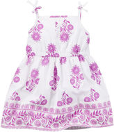 Carter's Sleeveless Print Dress - Baby Girls newborn-24m