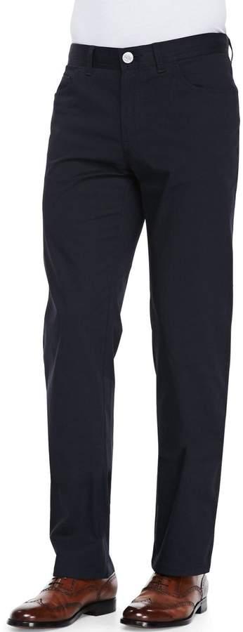Brioni Stelvio 5-Pocket Trousers, Navy