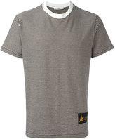 Golden Goose Deluxe Brand striped T-shirt - men - Cotton/Nylon - S