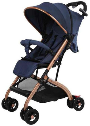 Aussie Baby Smart Travel Pram - Blue
