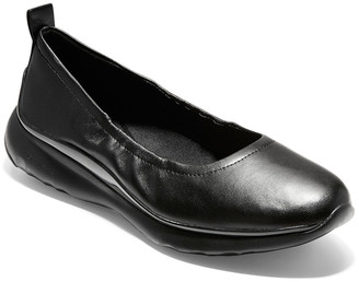Cole Haan 3.Zerogrand Leather Ballet Flat