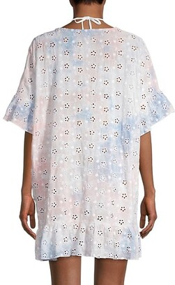 Surf.Gypsy Eyelet Embroidered Cover-Up