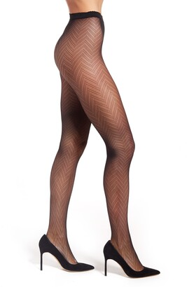 Natori Herringbone Tights