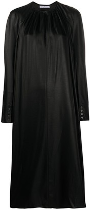 Acne Studios Satin Midi Dress