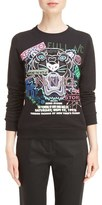Kenzo Women's Embroidered Tiger Flyer Cotton Sweatshirt