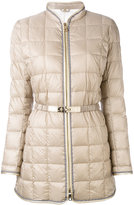 Fay belted puffer jacket - women - Feather Down/Polyamide/Polyester/Polyurethane - S