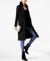 MICHAEL Michael Kors Faux-Fur-Collar Overcoat