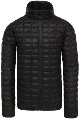 The North Face ThermoBall Eco Padded Jacket in Recycled Polyester with Stand-Up Collar