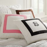 PBteen Suite Ribbon Applique Pillow Cover
