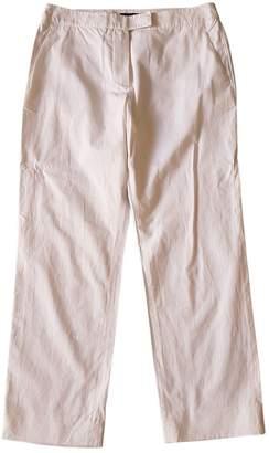 Sonia Rykiel White Cotton Trousers