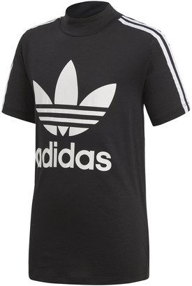 adidas Junior High Collar California Tee