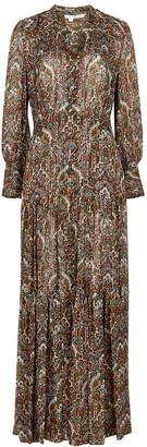 Veronica Beard Monali printed silk-blend maxi dress