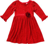 Youngland Young Land Sequin Knit Dress - Preschool Girls 4-6x