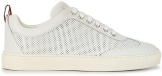 Bally Perforated Low-Top Sneakers