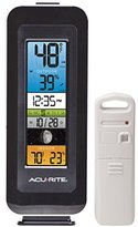 AcuRite 00384RM Weather Station with Indoor/Outdoor Temperature, Humidity, Intelli-Time Clock and Moon Phase
